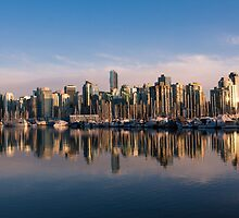 Reflecting on a City by Mirco Millaire