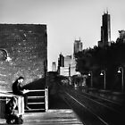 Downtown Train by Nadya Johnson