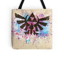 Triforce Emblem Splash Tote Bag