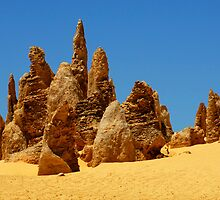 Nambung Pinnacles by Bob Christopher