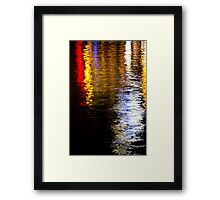 Water Colours I Framed Print