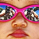 Pink Sunglasses by Chet  King