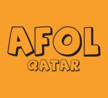 AFOL Qatar by Customize My Minifig by ChilleeW