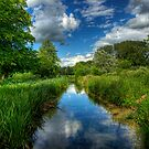 Itchen Reflections - Winchester by NeilAlderney