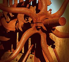 Wheels of Industry in the Fields of Gold by Michael Matthews
