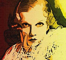 JEAN HARLOW by Terry Collett