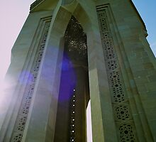 Eternal Flame, Baku, Azerbaijan by Lisa Hafey