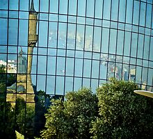 Reflections, Baku, Azerbaijan by Lisa Hafey