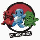 Pokemon done Oldschool by sonicfan114