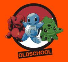 Pokemon done Oldschool Kids Clothes
