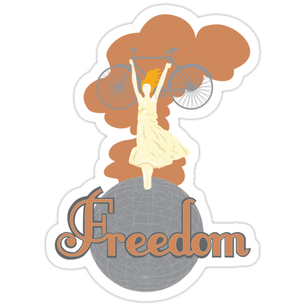 Biking is Freedom by forevermelody