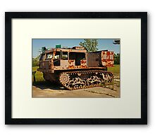 Armored Vehicle Image 7853 Framed Print