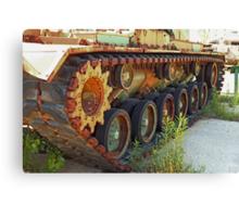 Tank Treads Canvas Print