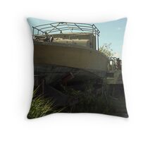 Military Boat 7870 Throw Pillow