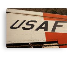 USAF Logo on Wing Canvas Print