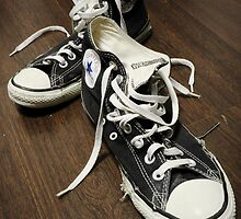 Old Chucks by Jojo Sardez