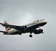 BA Landing approach by CraigSev