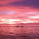 Puerto Galera Sunset Fishing by Jojo Sardez