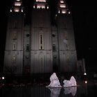 Mormon Temple by Nicole  Markmann Nelson