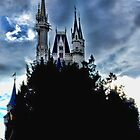 Disney Magic Kingdom Castle by AmandaJanePhoto