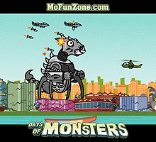Giant Robot Bug Monster! by sweettooth564