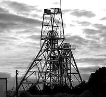 South Crofty Tin Mine by Paul Howarth