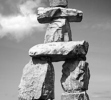 Inukshuk by Fern Blacker