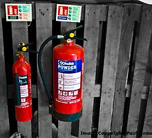 Extinguishers by Paul Howarth