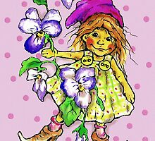 Violet Fairy by Renata Lombard