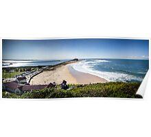 Nobby's Beach - Newcastle Poster