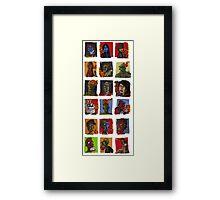 The master grid Framed Print