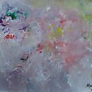 abstract painting..the flow by fladelita