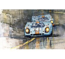 Porsche 917K Gulf Le Mans 24 1970  Photographic Print