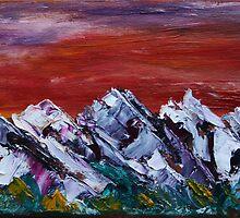 Dusk near Banff by James Bryron Love