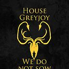 House Greyjoy iPhone Case by alexandramarieg