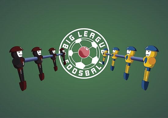 Big League Foosball | Community by Mark Quimoyog