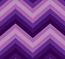Case Retro Zig Zag Chevron Pattern by Medusa81