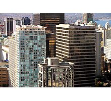 Glittering Skyscrapers, Vancouver  Photographic Print