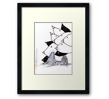 pod birds #02 Framed Print