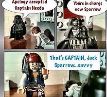 "That's ""Captain"" Jack Sparrow by JetpackBlues"