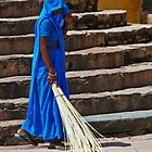 Sweep in Blue by Kerry Purnell