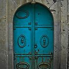 Old Blue Door by Kerry Purnell