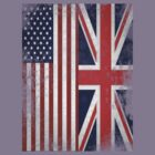 Distressed Flags: American/British by 52films