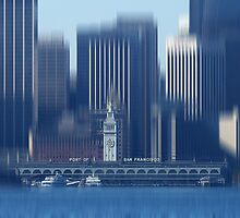 Port of San Francisco by KUJO-Photo