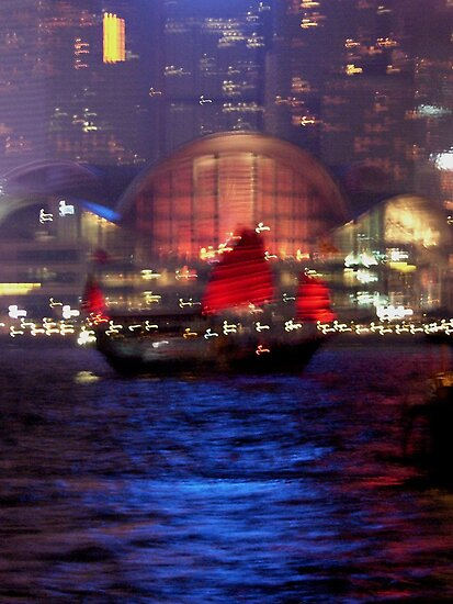 Victoria Harbour, Hong Kong by KUJO-Photo