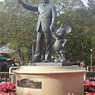 Walt Disney and Mickey Mouse by alliehabgood