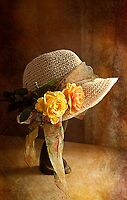 If you can't get ahead get a hat !! by Irene  Burdell