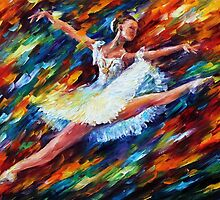 ELATION- OIL PAINTING BY LEONID AFREMOV by Leonid  Afremov
