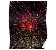 Boom  Boom - Fireworks Explosions Poster