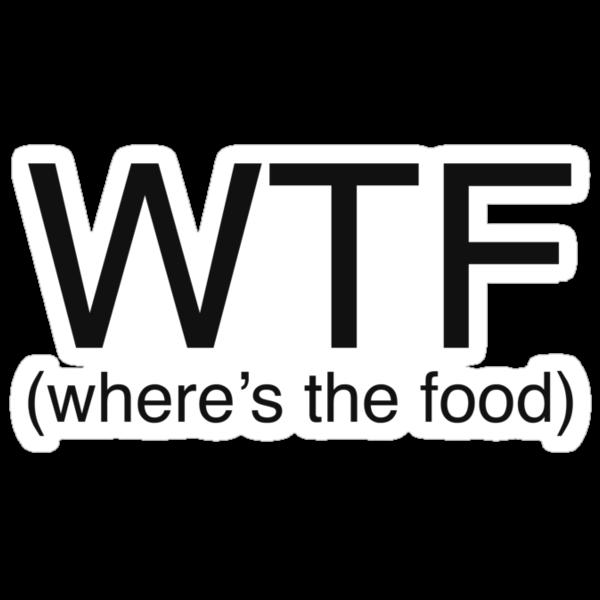 Where's The Food? by Jamie Harrington